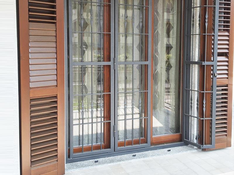 Inferriate per porte e finestre